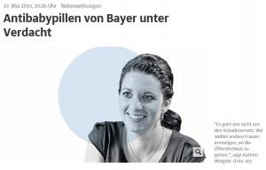 Kathrin Weigele Schadensersatz Antibabypille
