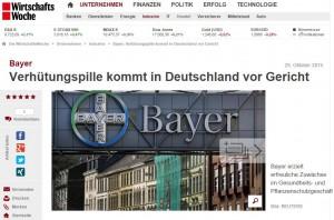 Yasminelle Klage Bayer
