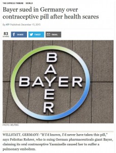 Bayer sued in germany